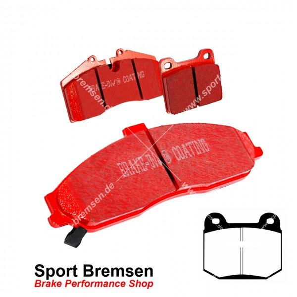 EBC Redstuff Keramik Bremsbeläge für Nissan 350Z Brembo hinten