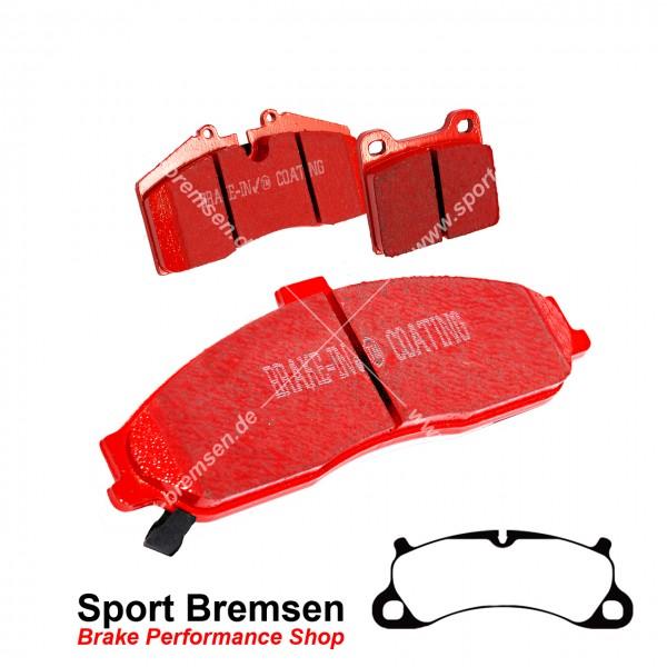 EBC Redstuff Keramik Bremsbeläge für Porsche 911 (991) 3.8 GTS 99135194902 vorne