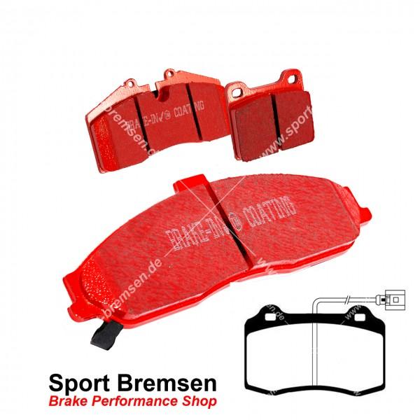 EBC Redstuff Keramik Bremsbeläge für Seat Leon Cupra R 1.8T (1M) Brembo vorne
