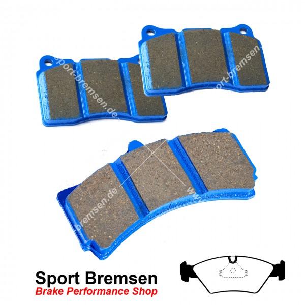 EBC Racing Bluestuff NDX Bremsbeläge für BMW 3er M3 (e30) vorne