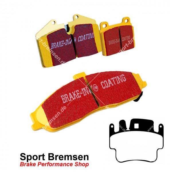 EBC Yellowstuff Bremsbeläge für Porsche 911 Turbo 4S (996) 99635294903 hinten