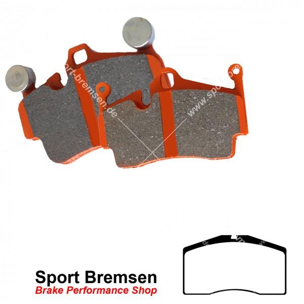 EBC Orangestuff Racing Bremsbeläge für Porsche 911 (993) 3.6 Turbo 92835194903 vorne