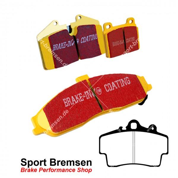 EBC Yellowstuff Bremsbeläge für Porsche Boxster 2.5 | 2.7 (986) 98735193903 vorne