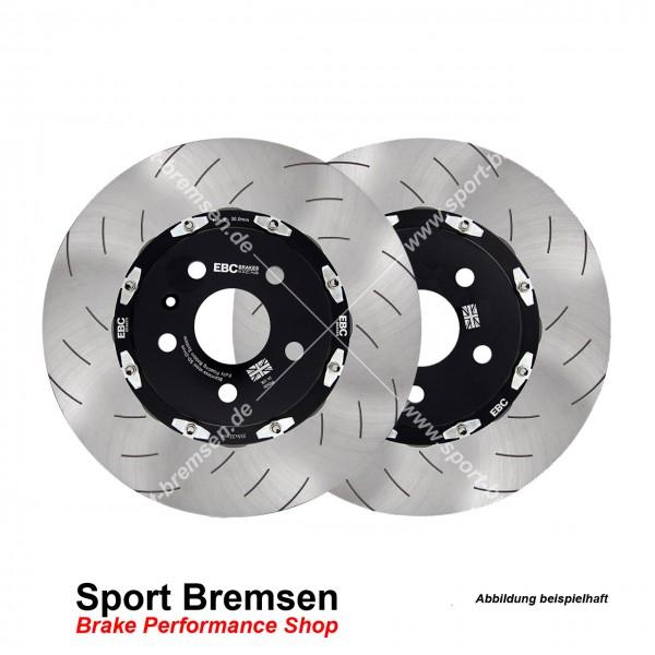 EBC Racing Sport Bremsscheiben für Opel Insignia A 2.8 V6 Turbo 4x4 OPC 355x32mm vorne