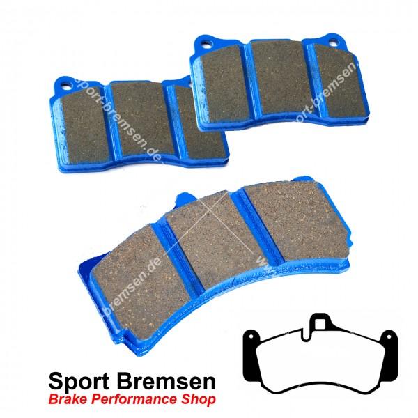 EBC Racing Bluestuff NDX Bremsbeläge für Porsche 911 Turbo 3.8 (997II) 99735194701 vorne