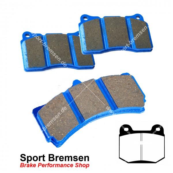 EBC Racing Bluestuff NDX Bremsbeläge für Nissan 350Z Brembo hinten