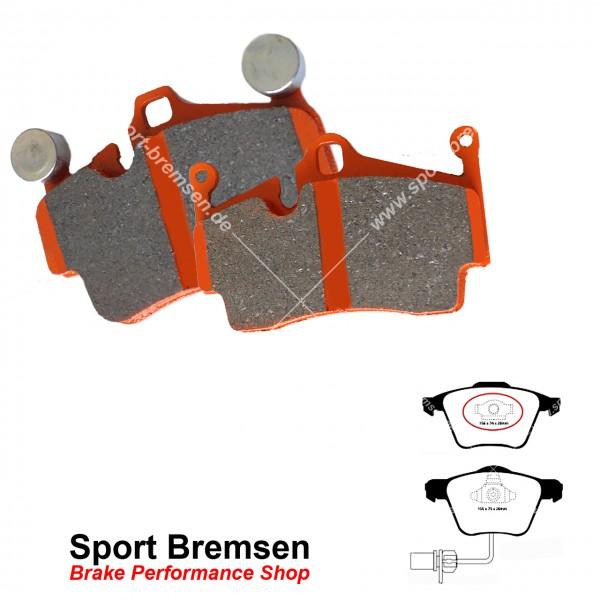 EBC Orangestuff Racing Bremsbeläge DP91495, EBC123115, 5039221914952