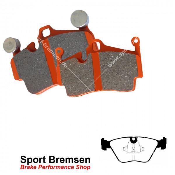 EBC Orangestuff Racing Bremsbeläge für BMW 3er M3 (e36) vorne