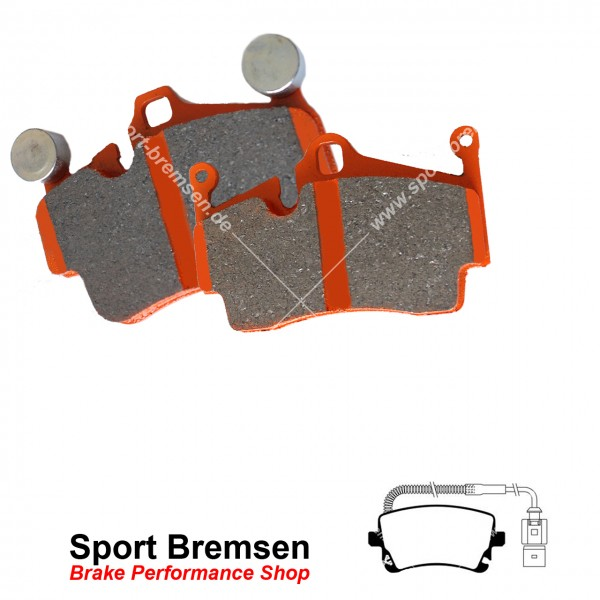 EBC Orangestuff Racing Bremsbeläge DP91470, EBC117678, 5039221914709