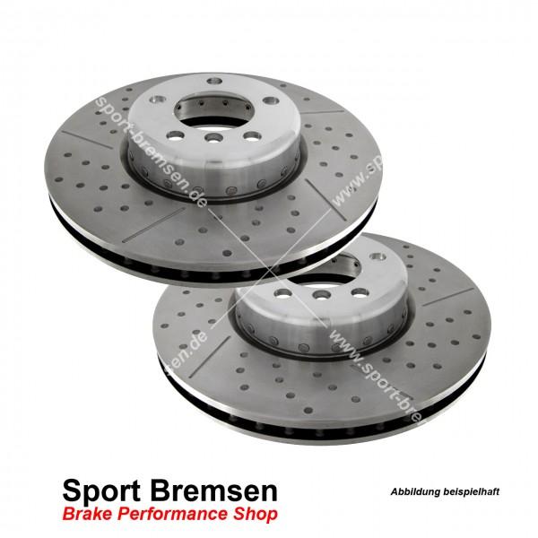 EBC Turbo Groove Sport Bremsscheiben für BMW 4er M Bremse (F32 F33) hinten 345x24mm