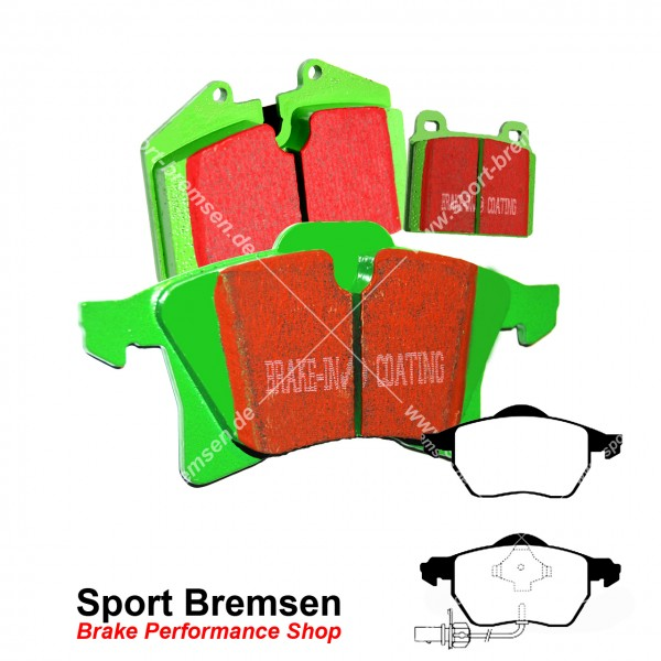 EBC Greenstuff Bremsbeläge DP21483, EBC101865, 5039221214830