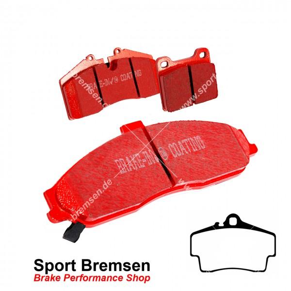 EBC Redstuff Keramik Bremsbeläge für Porsche Cayman 3.4S (987C) 217kW hinten