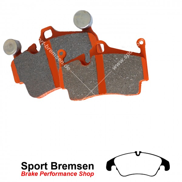 EBC Orangestuff Racing Bremsbeläge DP91986, EBC122976, 5039221919865