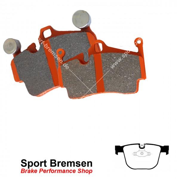 EBC Orangestuff Racing Bremsbeläge für BMW 3er M3 (e90 e92 e93) hinten