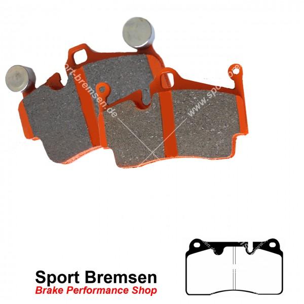 EBC Orangestuff Racing Bremsbeläge für Renault Megane III TCe 2.0 vorne