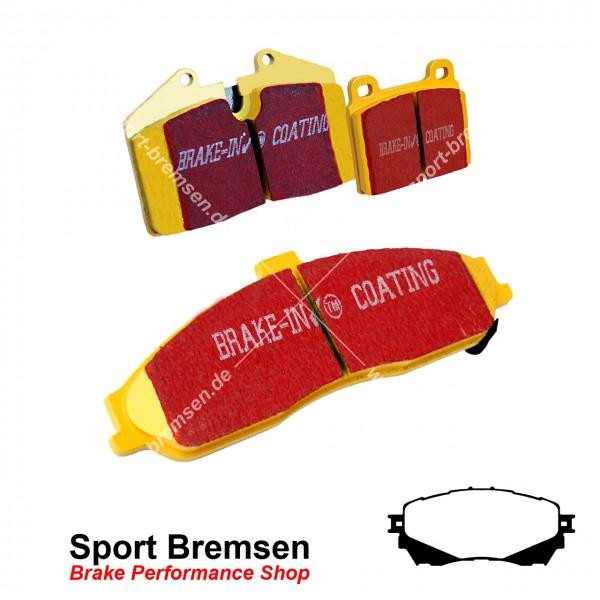 EBC Yellowstuff Bremsbeläge für Mazda 6 (GJ, GL) 2.0 2.2 2.5 vorne