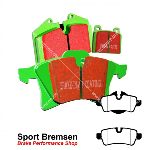 EBC Greenstuff Bremsbeläge DP21931, EBC102022, 5039221219316