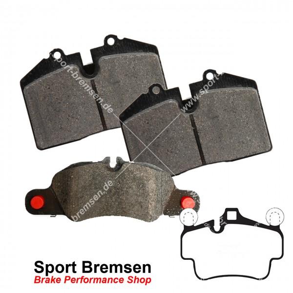 Textar Bremsbeläge OEM für Porsche Boxster 3.4S (987II) 99735193905 vorne