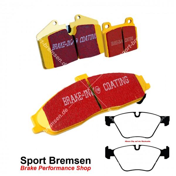 EBC Yellowstuff Bremsbeläge für BMW 3er 330d (e90-e93) vorne