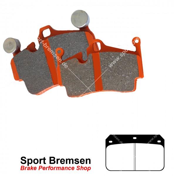 EBC Orangestuff Racing Bremsbeläge für Wilwood Bremssattel Dynalite Cotter Pin