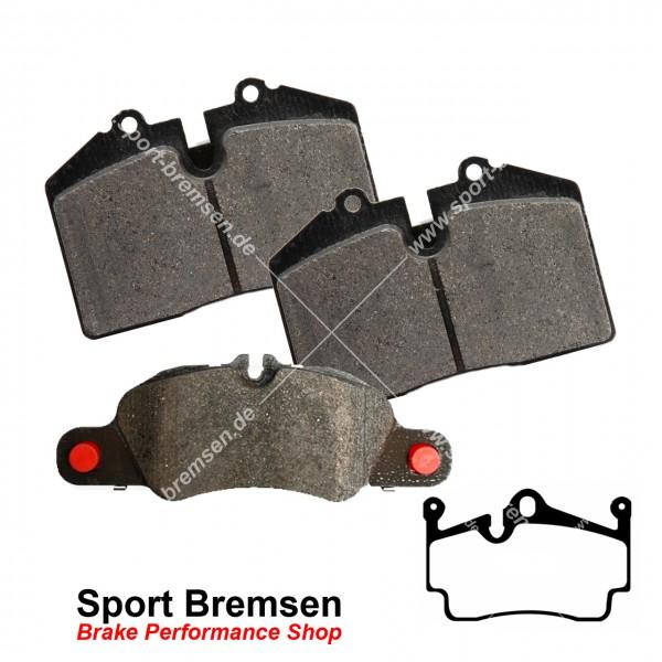 Textar Bremsbeläge OEM für Porsche Boxster 3.4S (987II) 98735293901 hinten