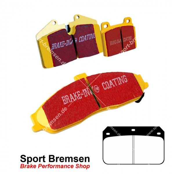 EBC Yellowstuff Bremsbeläge für Wilwood Bremssattel Dynalite Cotter Pin