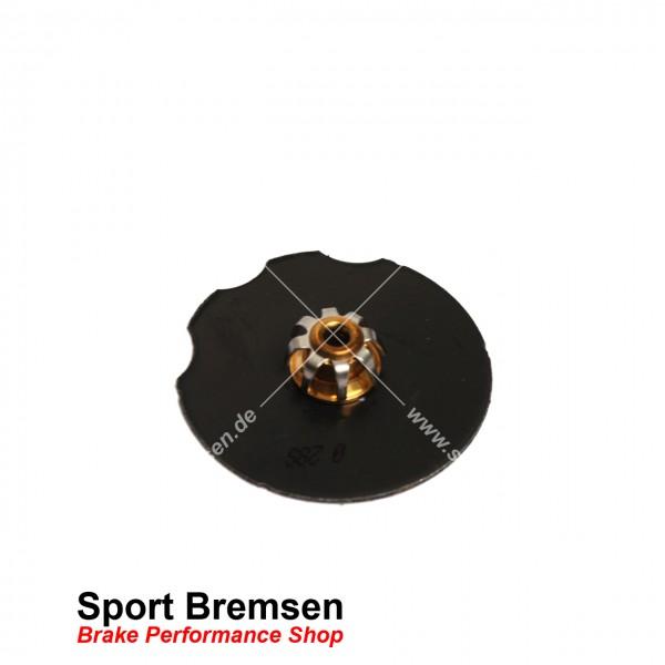Dämpfungsplatten Set für Porsche 911 (993) 3.6 Carrera 96435109600 96535109600 vorne