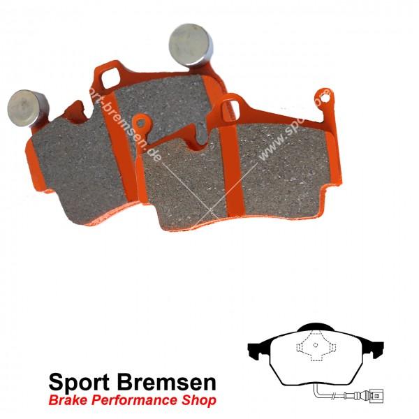 EBC Orangestuff Racing Bremsbeläge für Audi TT 1.8T (132-176kW) vorne MIT WK