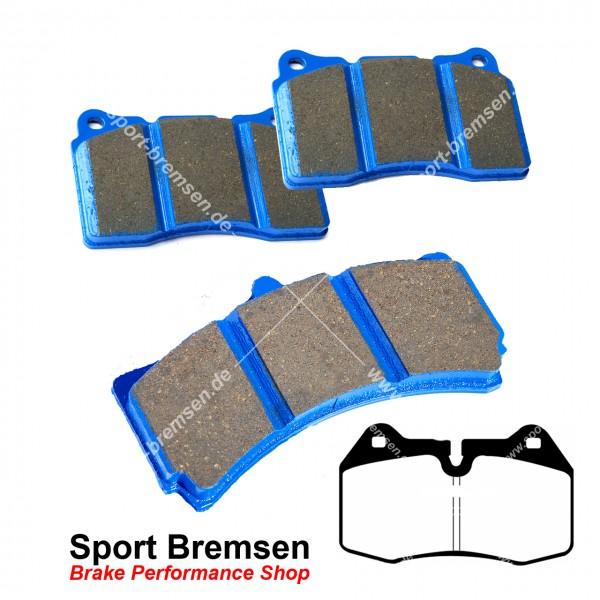EBC Racing Bluestuff NDX Bremsbeläge für Nissan Skyline 3.5 Brembo vorne