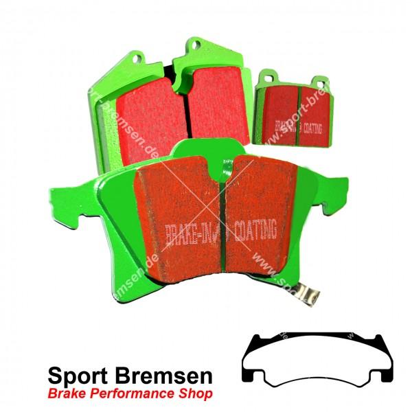 EBC Greenstuff Bremsbeläge für Dodge RAM SRT 10 | 8.3 ab 2005 vorne