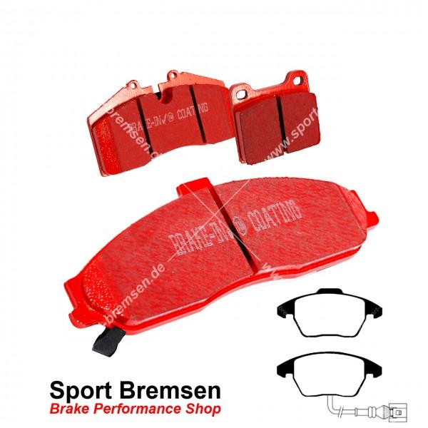 EBC Redstuff Keramik Bremsbeläge für VW Polo R 2.0 WRC vorne