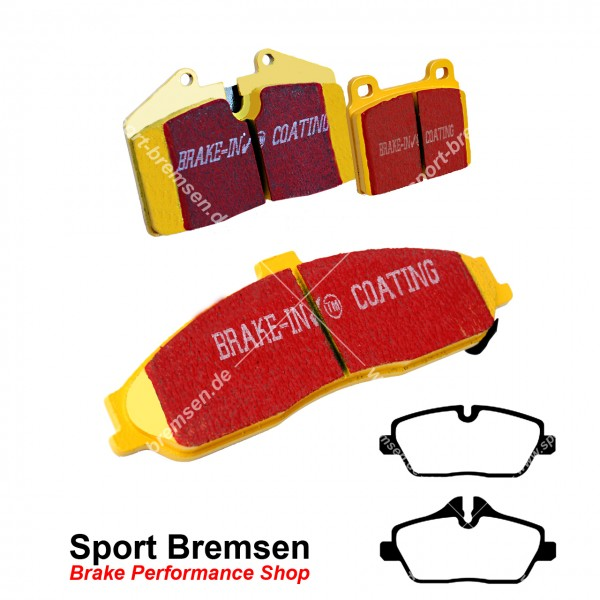 EBC Yellowstuff Bremsbeläge DP41578R, EBC112635, 5039221415787
