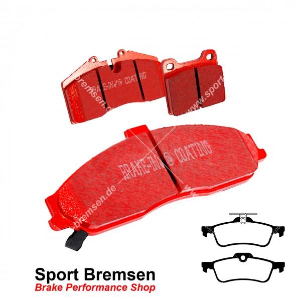 EBC Redstuff Keramik Bremsbeläge für Honda Civic IX DTEC VTEC hinten