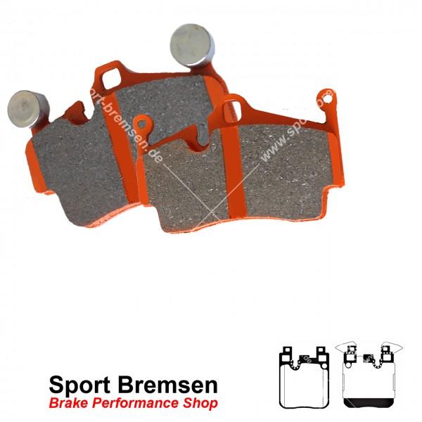 EBC Orangestuff Racing Bremsbeläge für BMW 1er M135i (F20 F21) hinten