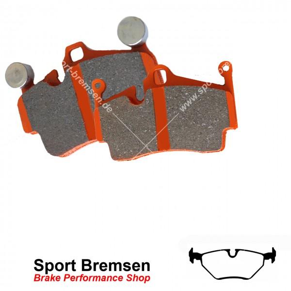 EBC Orangestuff Racing Bremsbeläge DP91289, EBC118698, 5039221912897