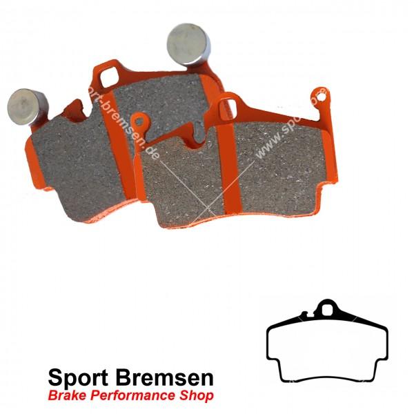 EBC Orangestuff Racing Bremsbeläge für Porsche 911 (996) 3.4 | 3.6 hinten