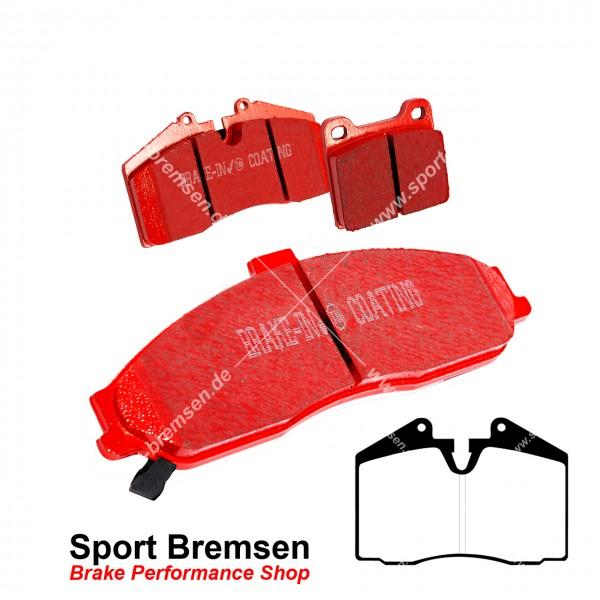 EBC Redstuff Keramik Bremsbeläge für Porsche 911 (993) 3.6 Carrera 96535293904 hinten