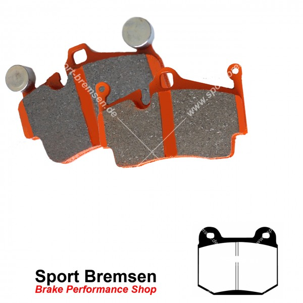 EBC Orangestuff Racing Bremsbeläge DP91537, EBC116470, 5039221915379