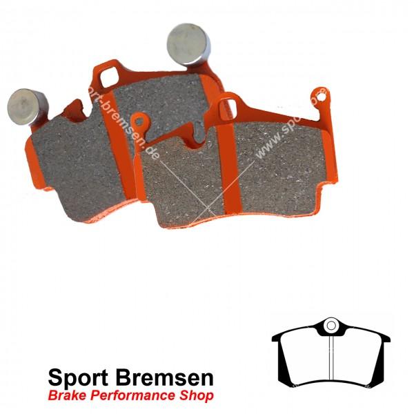 EBC Orangestuff Bremsbeläge für Renault Clio III 2.0 16V Sport hinten