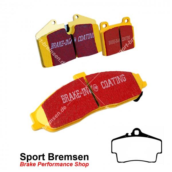 EBC Yellowstuff Bremsbeläge für Porsche Cayman 3.4S (987C) 223kW 98635293910 hinten