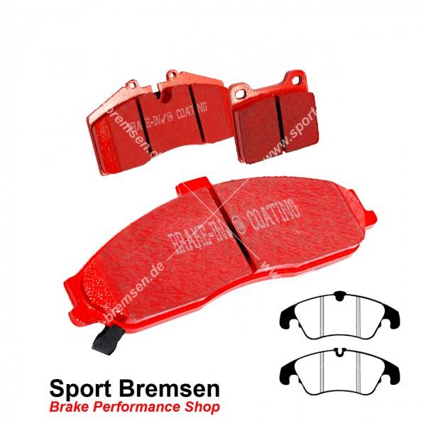 EBC Redstuff Keramik Bremsbeläge für Ford Focus II 2.5 RS vorne