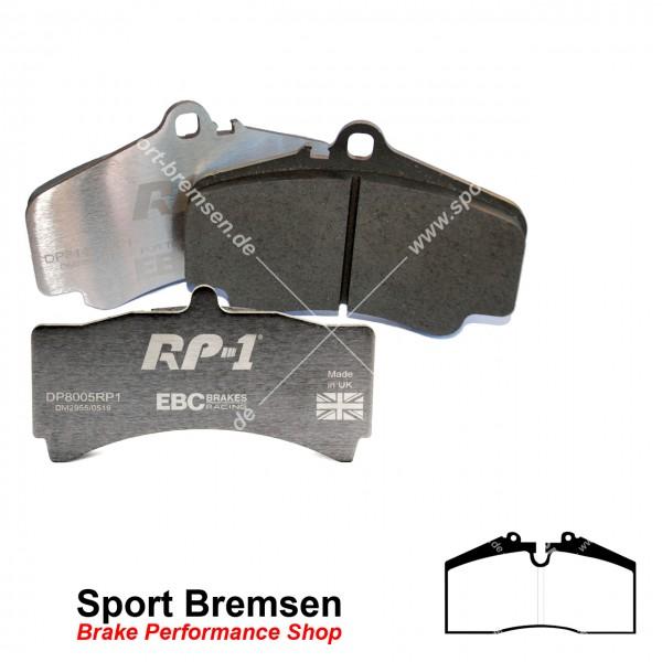 EBC RP-1 Racing Bremsbeläge für Porsche 911 (993) 3.6 Carrera 99335193901 vorne