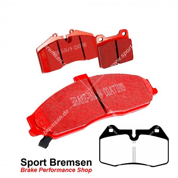 EBC Redstuff Keramik Bremsbeläge für Honda Interga 2.0 16V Brembo vorne