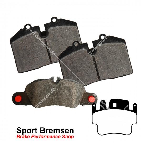 Textar Bremsbeläge OEM für Porsche 911 (996) 3.6S 99635294903 vorne