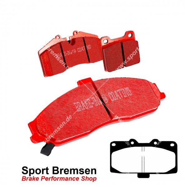 EBC Redstuff Keramik Bremsbeläge für Nissan 300ZX Twin Turbo (Z32) vorne