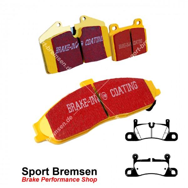 EBC Yellowstuff Bremsbeläge für Porsche Cayenne 3.6 GTS (92A) 95835293950 7PO698451 hinten