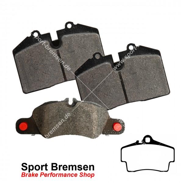 Textar Bremsbeläge OEM für Porsche Boxster 3.2S (986) 98635293910 hinten