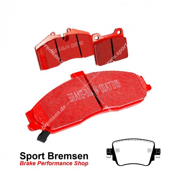 EBC Redstuff Keramik Bremsbeläge für Skoda Oktavia III RS 2.0 TSI (5E) hinten