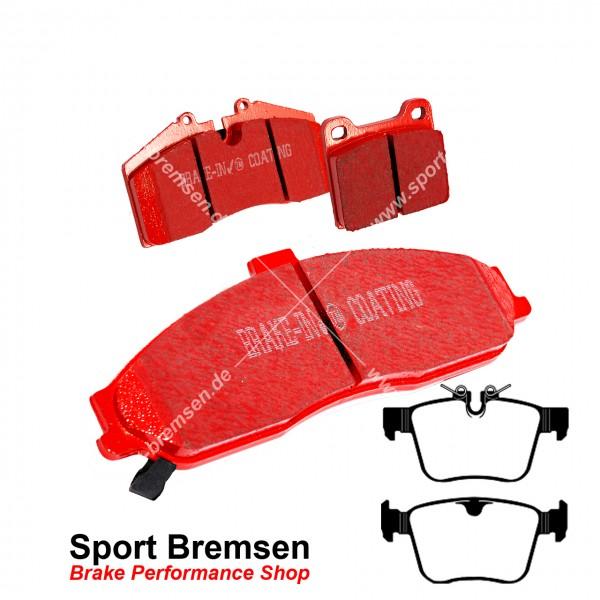 EBC Redstuff Keramik Bremsbeläge DP32246C, EBC119585, 5039222322466