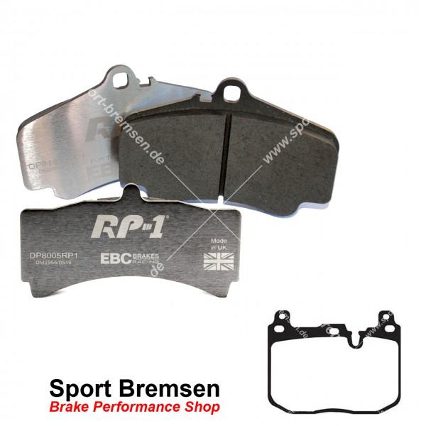 EBC RP-1 Racing Bremsbeläge für BMW M2 (F87) vorne